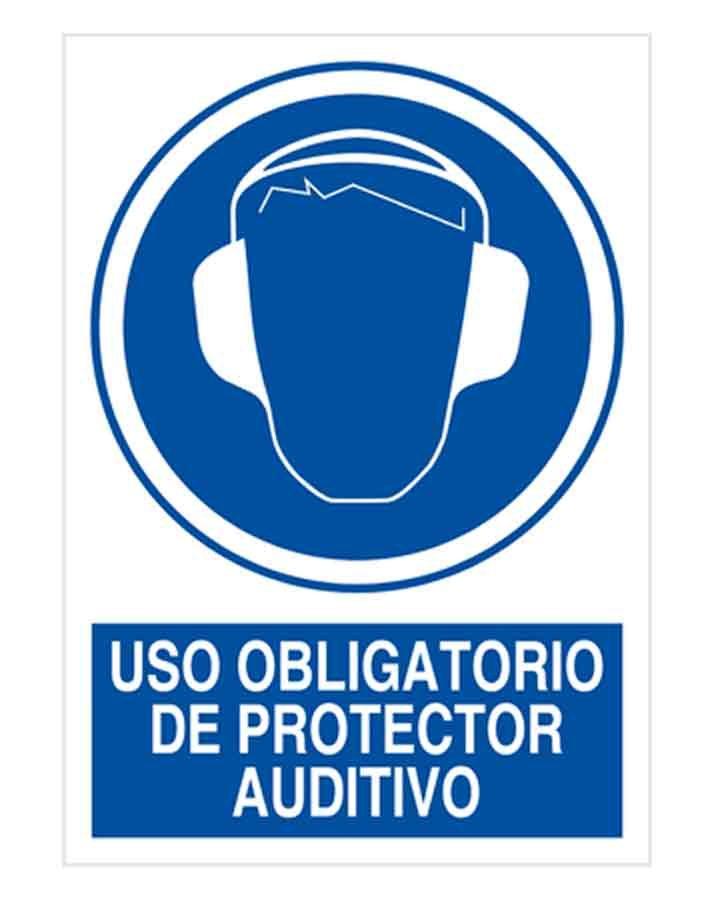 uso obligatorio de protector auditivo o64