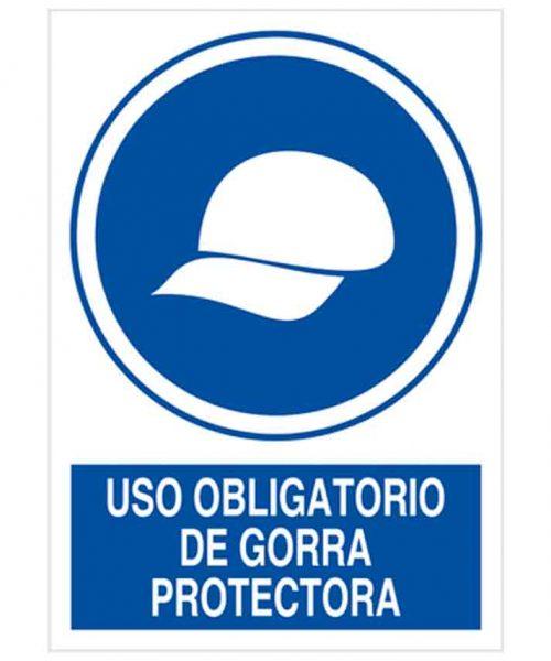 Uso Obligatorio de Gorra Protectora o79