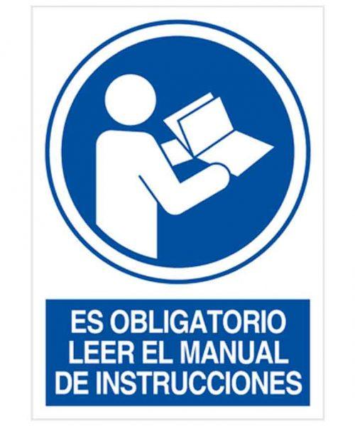 Es obligatorio leer el manual de instrucciones