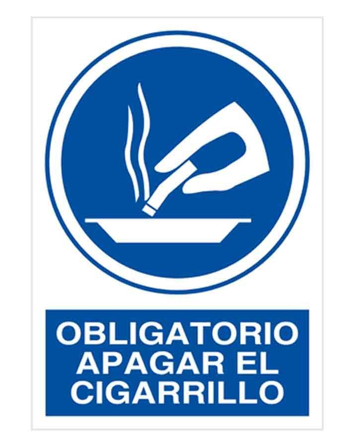 Obligatorio apagar el cigarrillo