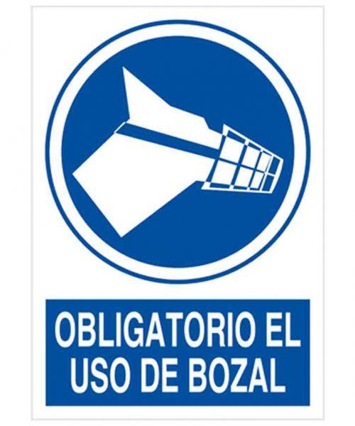 Obligatorio el uso de bozal