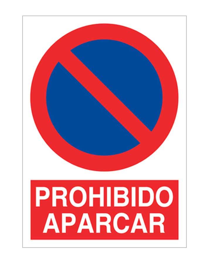 Adhesivo PROHIBIDO APARCAR 200X300mm Se/ñal prohibici/ón ref.RD40640 MovilCom/®