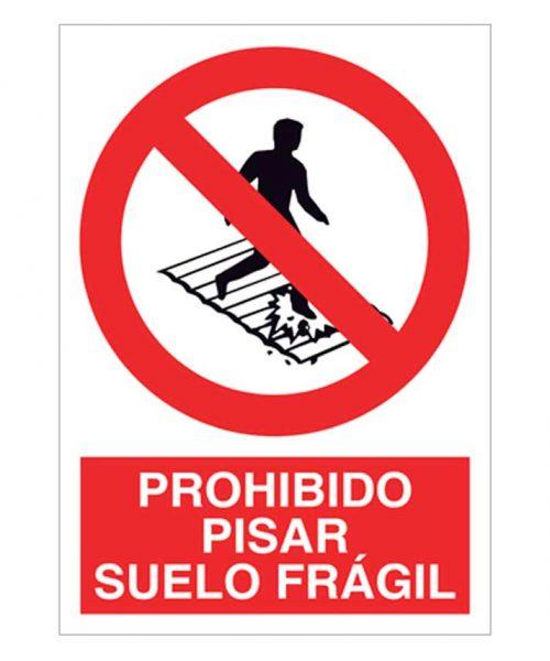 Prohibido pisar suelo frágil