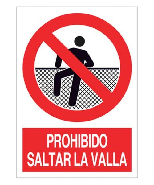 Prohibido saltar la valla