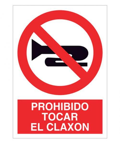 Prohibido tocar el claxon