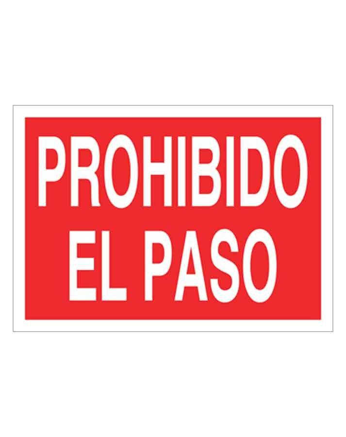 Señal de prohibicion p01t