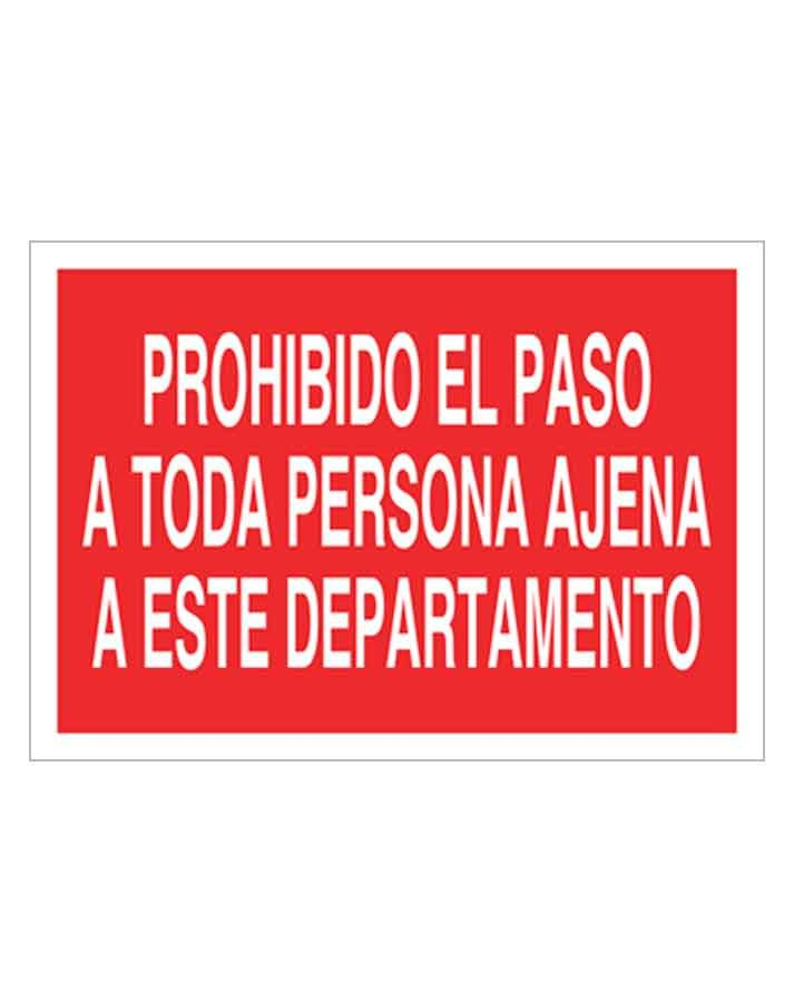 Señal de prohibicion p04t