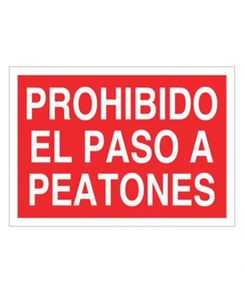 Señal de prohibicion p05t