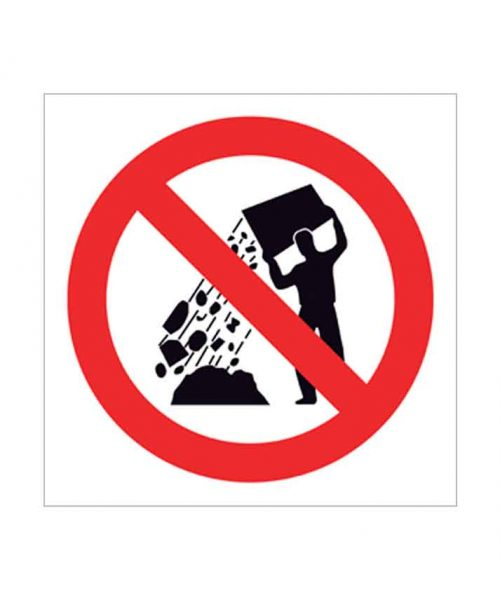 Señal de prohibido p104c