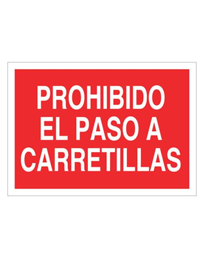 Señal de prohibicion p14t
