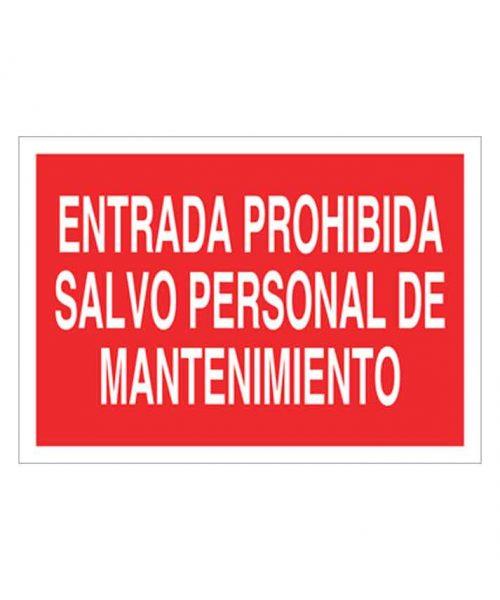 Señal de prohibicion p43t