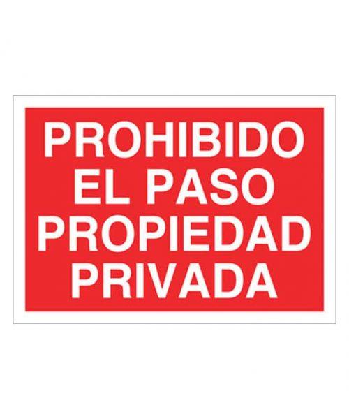 Señal de prohibicion p63t