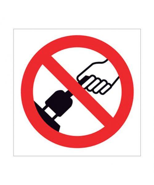 Señal de prohibido p71c