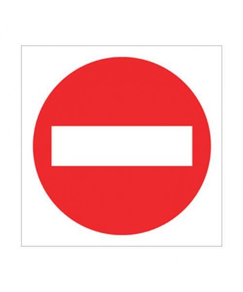 señal de prohibido p01c