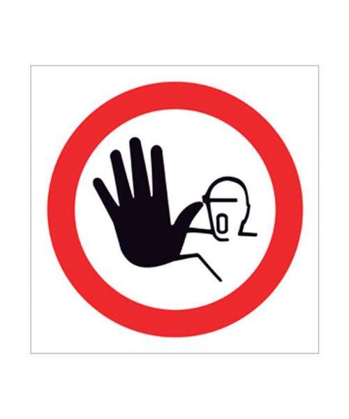 señal de prohibido p02c