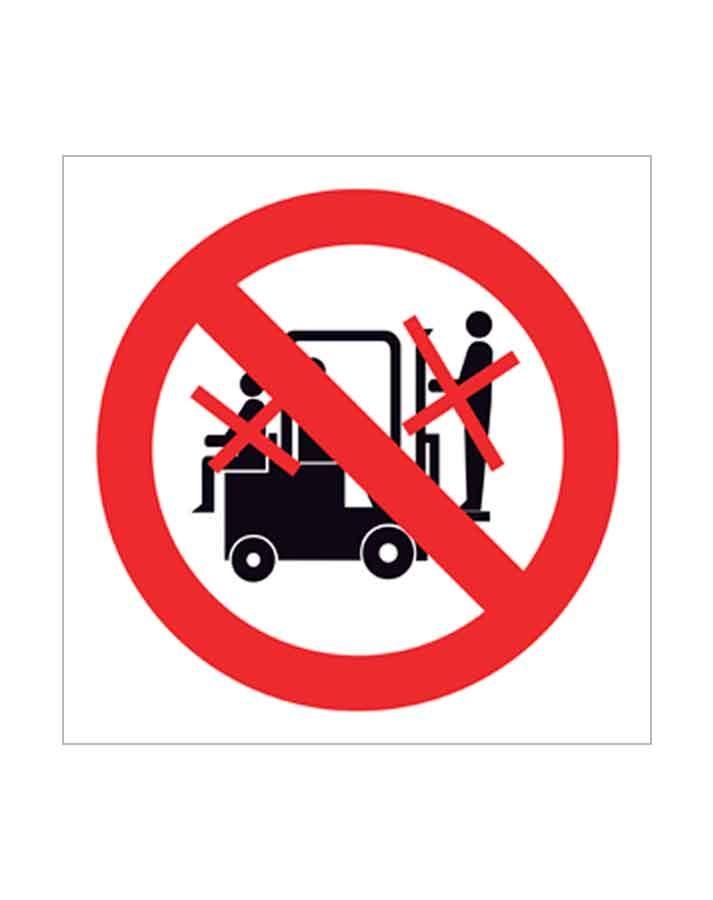 Señal de prohibido p15c
