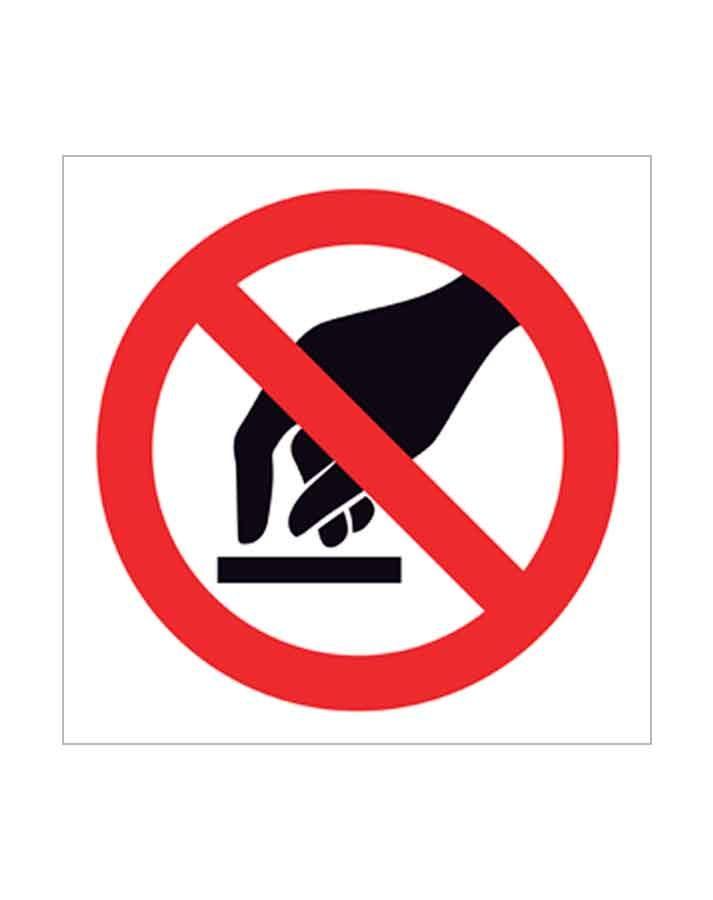 Señal de prohibido p18c