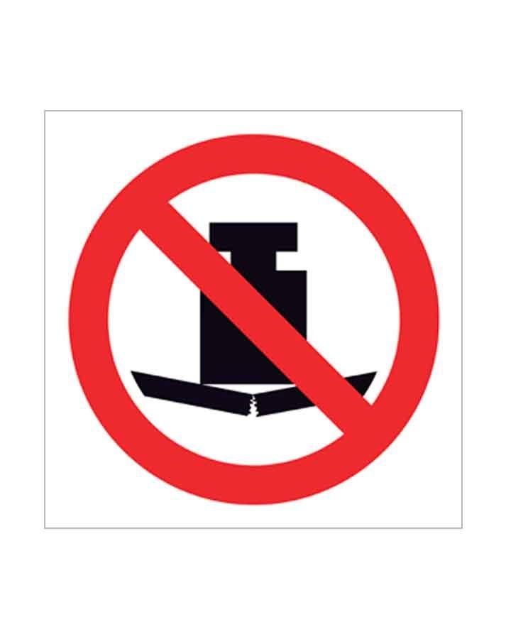 Señal de prohibido p90c
