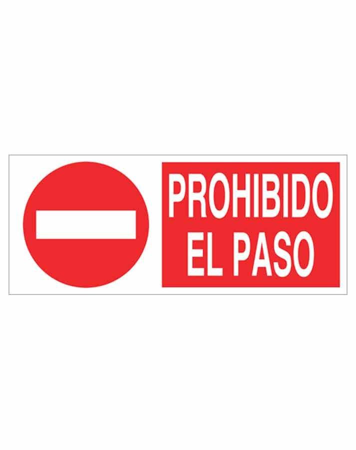 Señal prohibición p01r