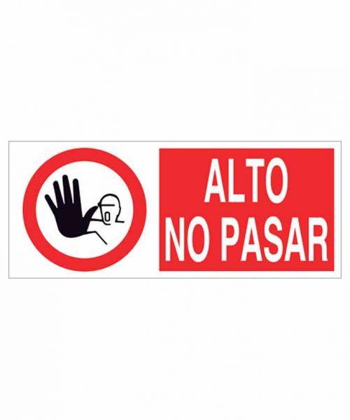 Señal prohibición p02r