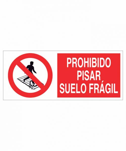 Señal prohibición p06r