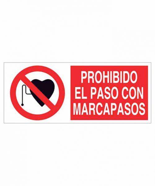 Señal prohibición p09r