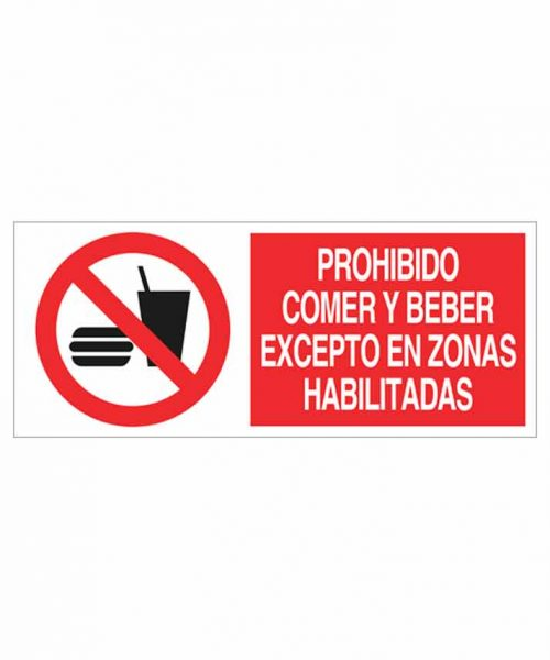 Señal prohibición p100r