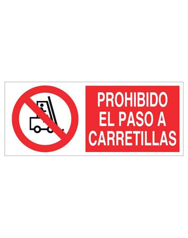 Señal prohibición p14r