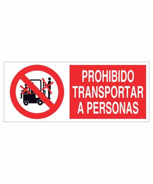 Señal prohibición p15r