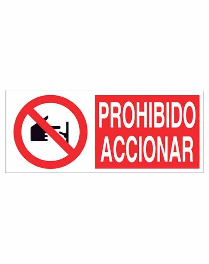 Señal prohibición p17r