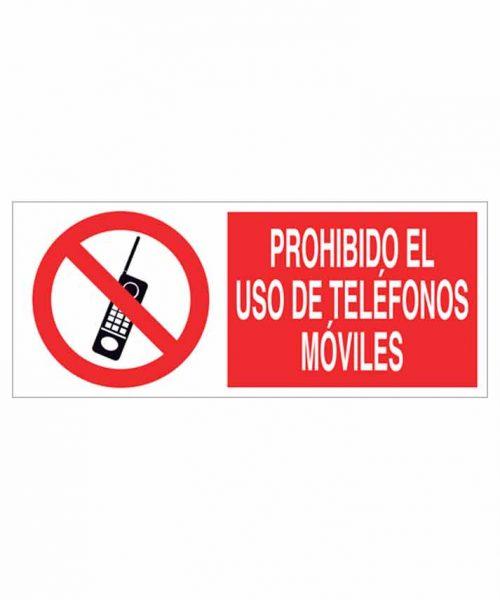 Señal prohibición p19r
