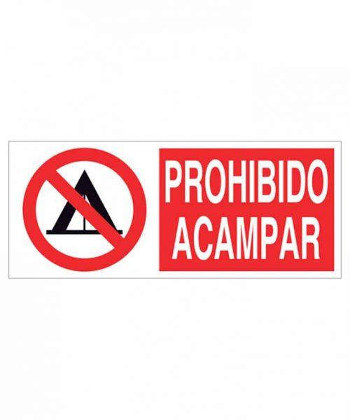 Señal prohibición p28r