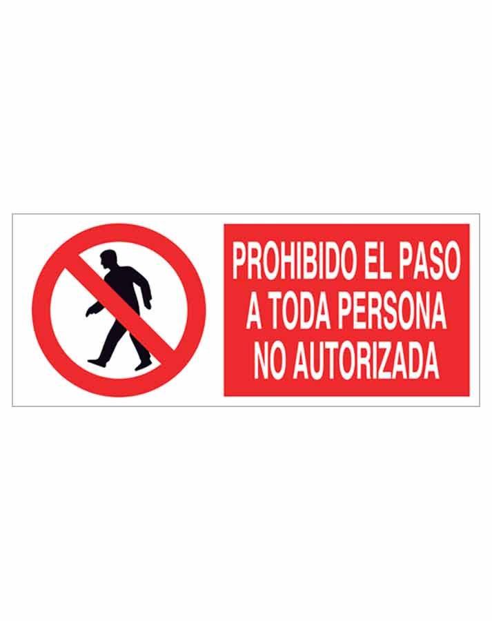 Señal prohibición p41r