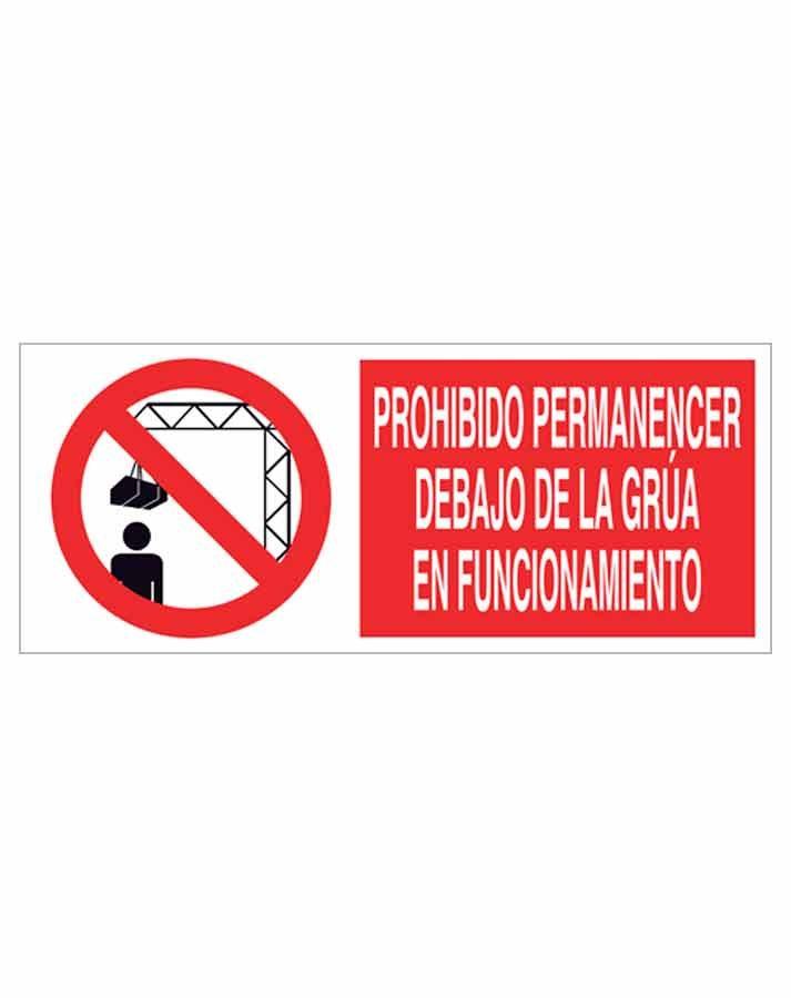Señal prohibición p56r