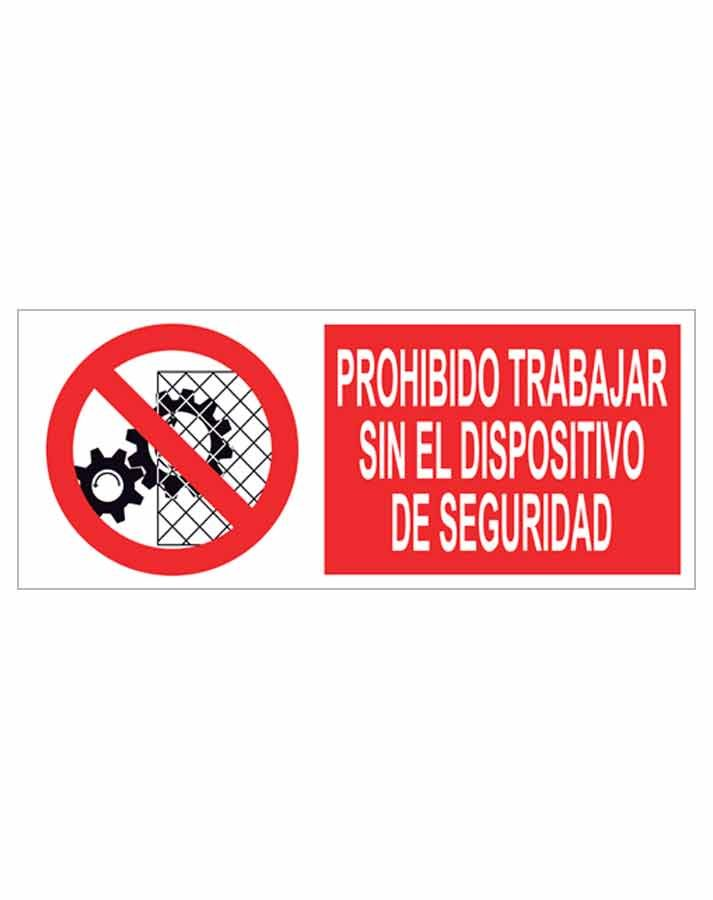 Señal prohibición p58r