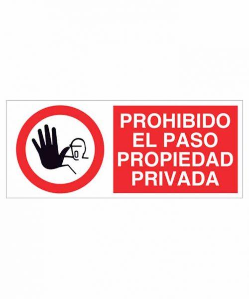 Señal prohibición p63r