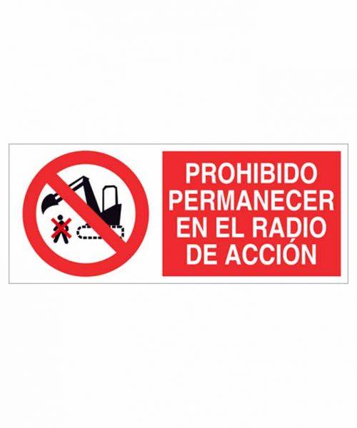 Señal prohibición p65r