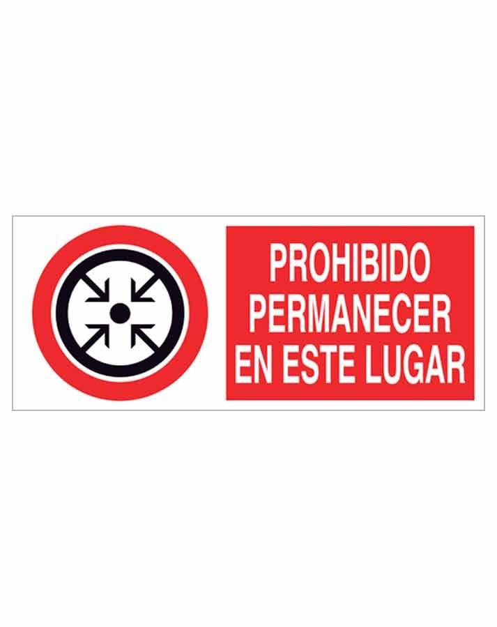 Señal prohibición p66r