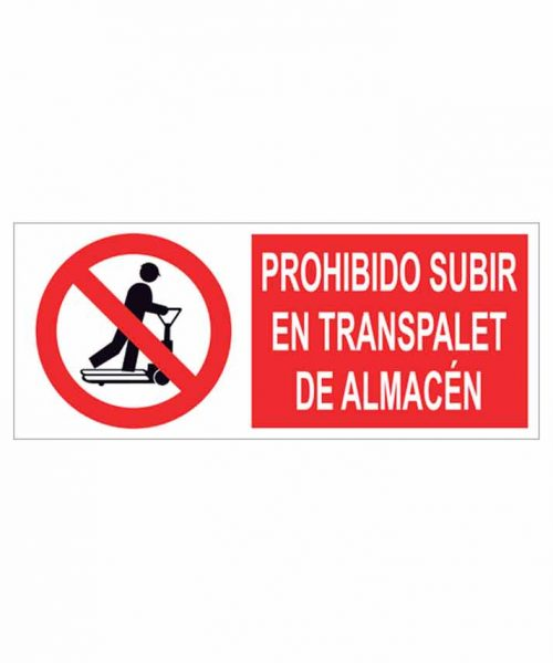Señal prohibición p69r