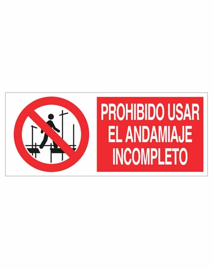 Señal prohibición p95r