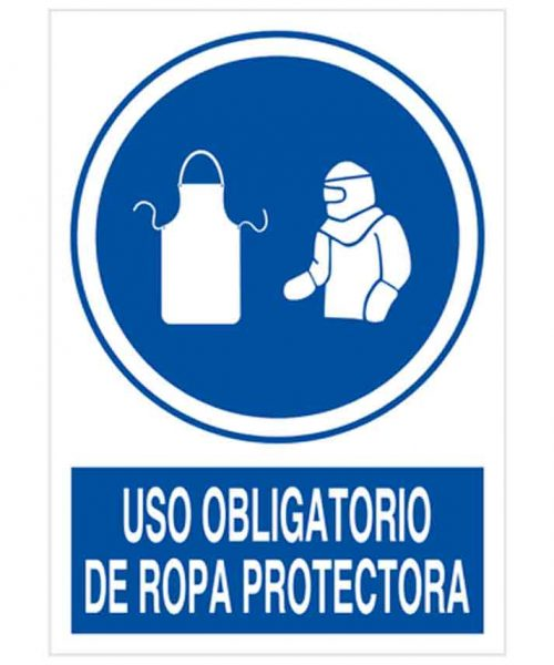uso obligatorio de ropa protectora 2
