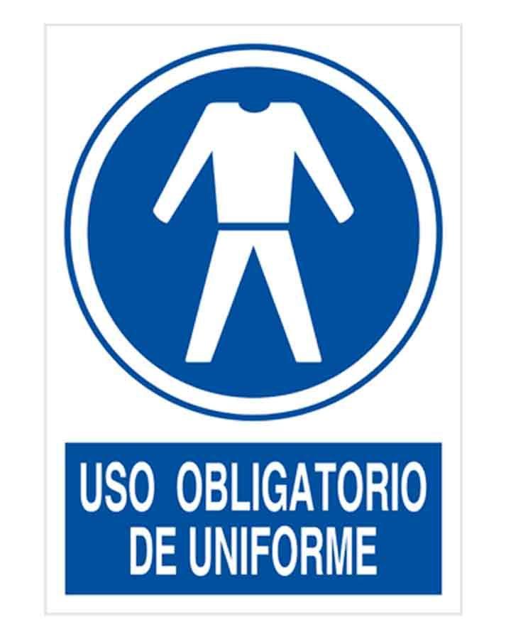 Uso obligatorio de uniforme