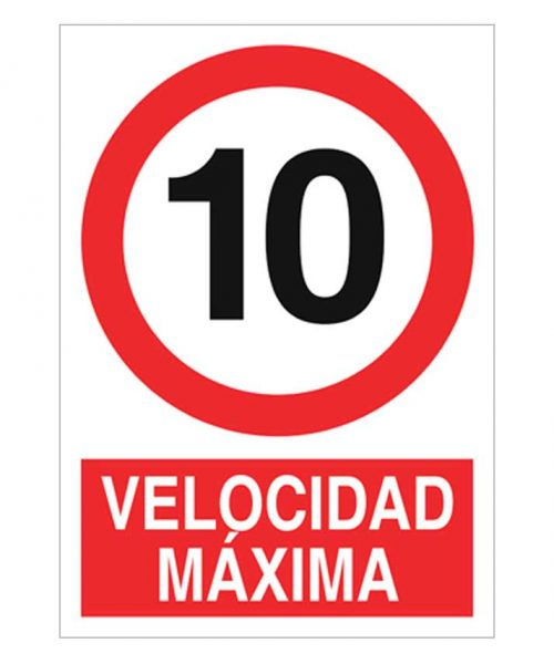 Velocidad máxima 10