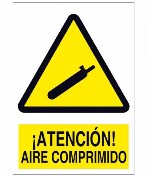 Atención aire comprimido