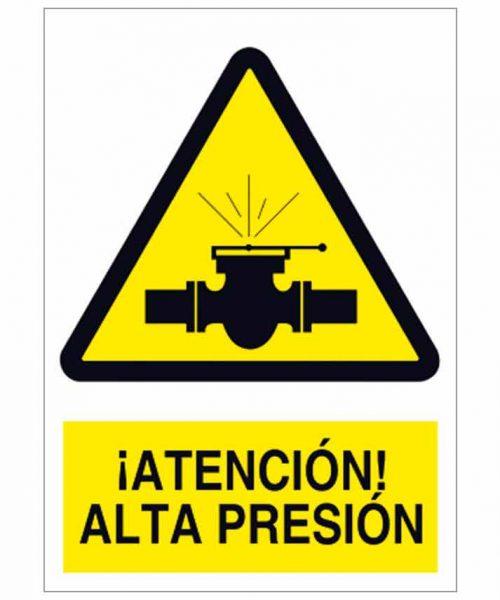 Atención alta presión