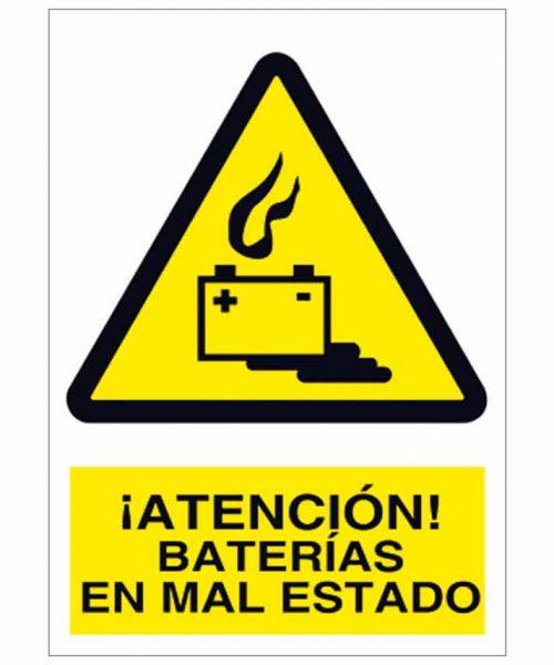 Atención baterías en mal estado