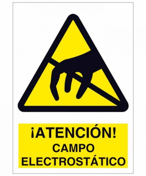 Atención campo electrostático