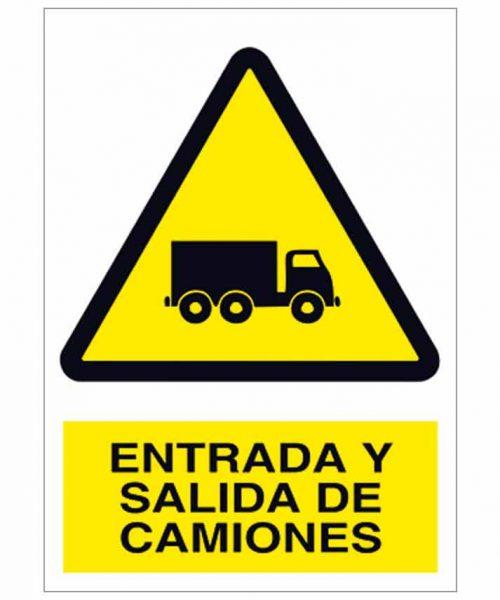 Entrada y salida de camiones