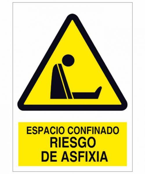 Espacio confinado riesgo de asfixia