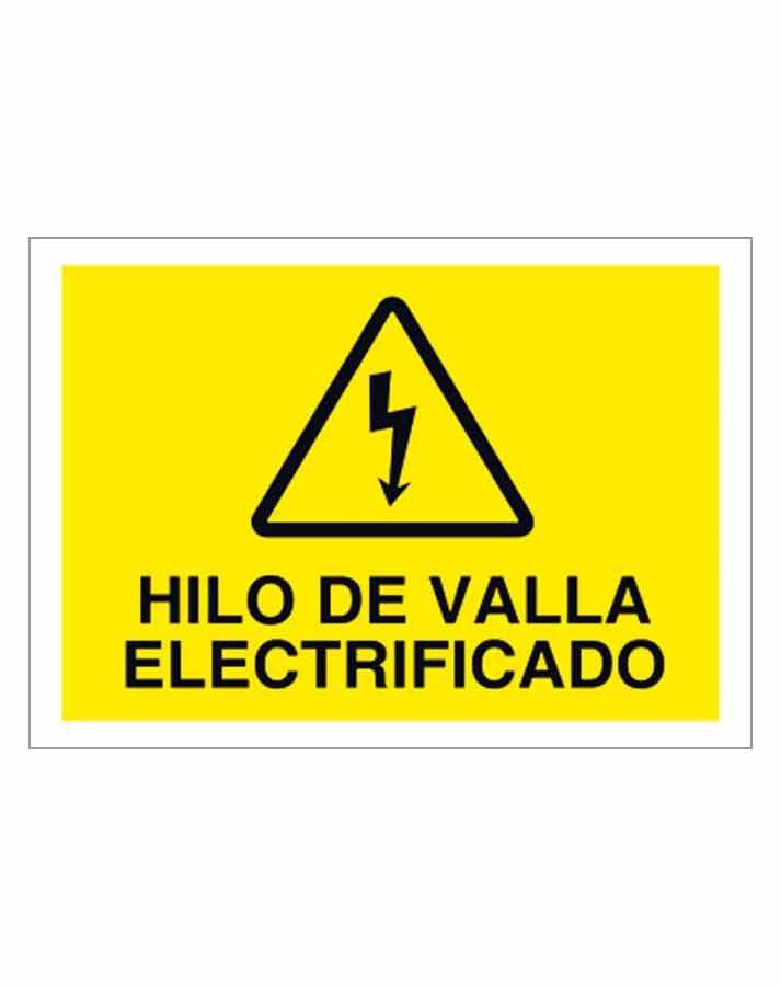 Hilo de valla electrificado